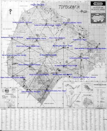 Buenos Aires Map© Daniel Tubío