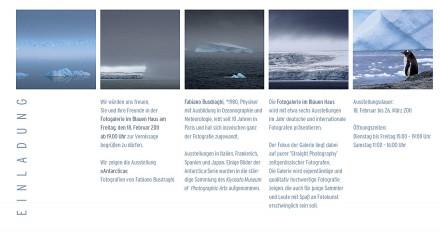 Fabiano Busdraghi Antarctica invitation