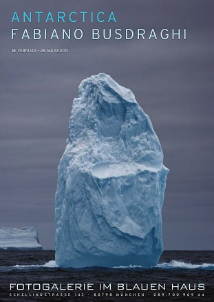 Fabiano Busdraghi Antarctica poster