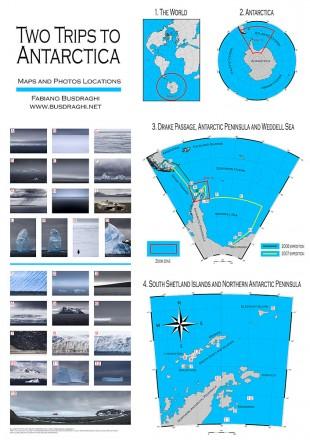 Fabiano Busdraghi mappa Antartide