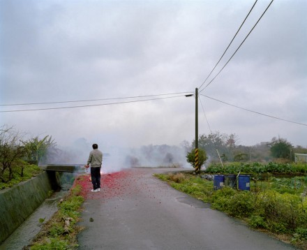 Moving Forward, Standing Still - Fireworks, Kuanyin, Taiwan. 2008© Rona Chang