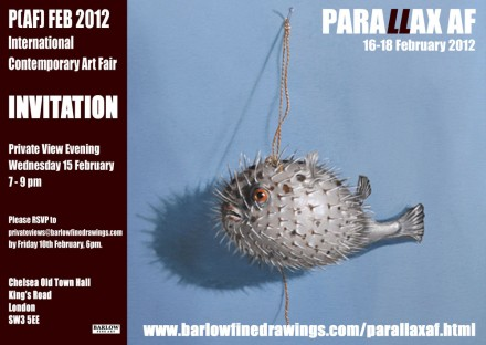 Parallax Art Fair: King's Road, London from 16 to 18 February 2012.