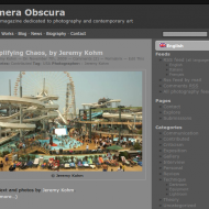 Camera Obscura new layout!