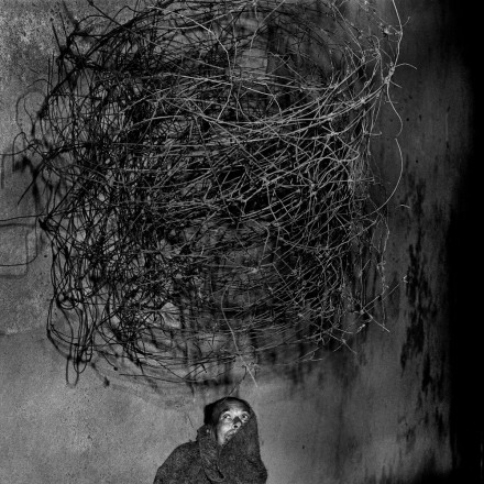 Photo by Roger Ballen: Twirling wires