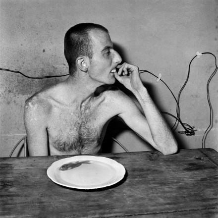Photo by Roger Ballen: Lunchtime, 2001