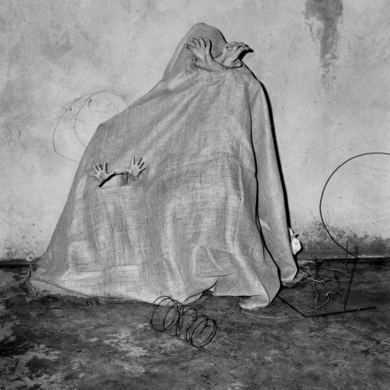 Photo by Roger Ballen: Crouched