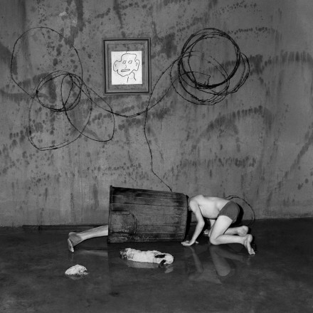 Photo by Roger Ballen: Scavenging