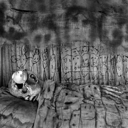 Photo by Roger Ballen: Deathbed