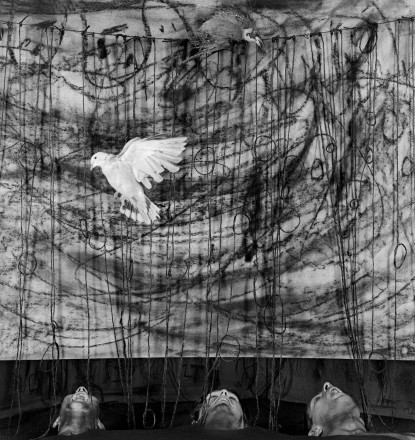 Photo by Roger Ballen: Gasping