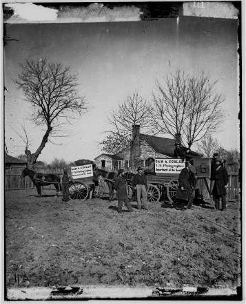 Darkroom wagons